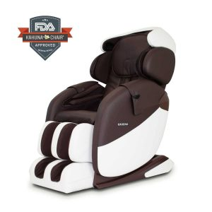 Kahuna Massage Chair LM-7000, Brown Ivory, Standard, 258 Pound