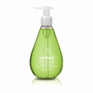 Method Green Tea + Aloe Gel Hand Soap, 12 Ounce (Pack 6)