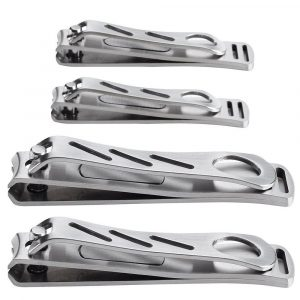 HQY Heavy-duty nail Clipper Set, Stainless Steel