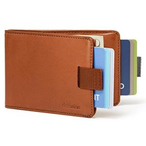Distil Union - Minimalist Leather Slim Bifold Wallets