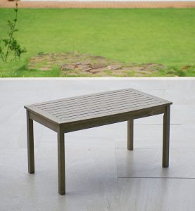Cambridge-Casual West Lake Coffee Table that is Weathered Gray