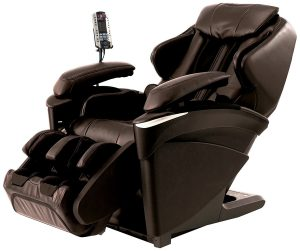 Panasonic EP Real Pro Luxury Heated Massage Chair, Ultra Prestige 3D, MA73T, Brown