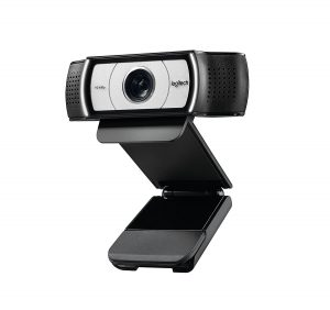 Logitech C930eHD Video Webcam, 1080P with 90-Degree Extended View
