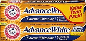 Arm and Hammer Extreme Whitening 6 oz Advance White Toothpaste Twin Pack (Packaging May Vary)