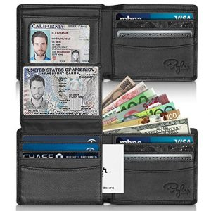 Bryker Hyde 2 ID Window RFID Wallet for Men