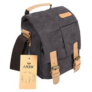 S-ZONE Vintage Waterproof- Canvas DSLR/ SLR bags