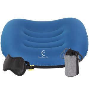 Free-Time Co. Camping Pillow Set, Inflatable