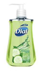 Dial Cucumber & Mint Liquid Hand Soap, 7.5 Fluid Ounces