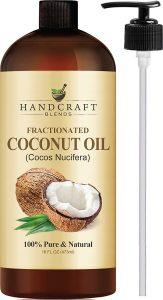 Handcraft Blends Fractionated Coconut Oil, Pure