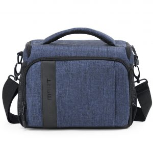 BAGSMART Compact Camera Shoulder Bag, with Rain Cover