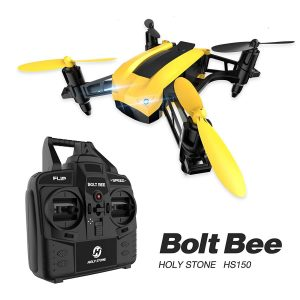 Holy Stone HS150 Bolt Bee Mini Racing Drone RC Quadcopter with 50KMH High Speed