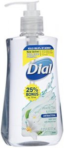 Dial Liquid Hand Soap with White Tea and Vitamin E, 9.375 Ounce