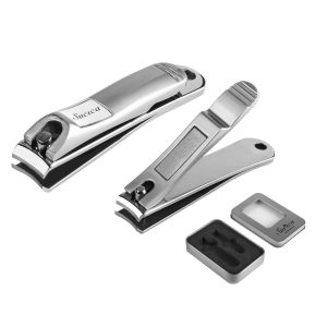 Sucica Stainless Steel Heavy Duty Nail Clippers for all genders