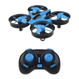 sykii RC Mini Drone H36 2.4GHz 6Axis Gyro Headless Mode RC One Key Return RC Helicopter