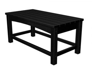 POLYWOOD Club Coffee Table CLT1836BL Black