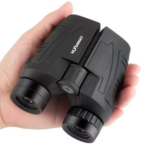 NEXGADGET Compact Binoculars, 12x25 for Adults with BAK-4 Prisms