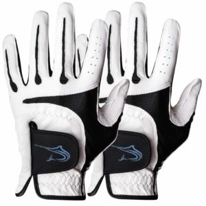 Swordfish Durable Premium Cabretta Leather Golf Gloves (2 Pack)