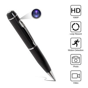 Yumfond Hidden HD 1080P Portable Spy Pen Camera
