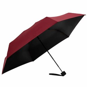 Fidus Mini Compact Sun&Rain Travel Umbrella - Lightweight Portable Outdoor Golf Umbrella with 95% UV Protection