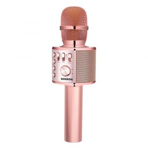 BONAOK Bluetooth Wireless Karaoke Microphone