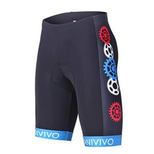 Anivivo Mens 3D Gel Padding Cycling Shorts