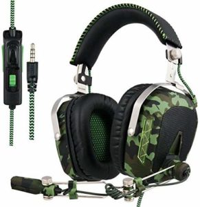 SADES A60/OMG Over-Ear Gaming Headset with Microphone for PC and MAC