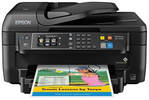Epson WF-2760 Wi-Fi Direct All-in-One Wireless Printer