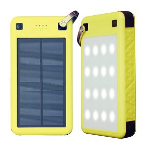 ZeroLemon Portable Solar Battery Charger