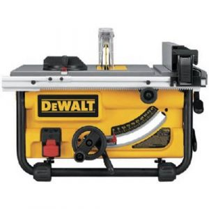 DEWALT DWE7480 Compact Job Site 10-Inch Table Saw
