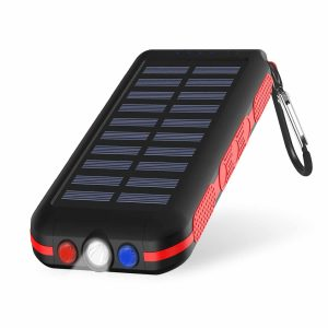 CXLiy Portable Waterproof Power Bank Solar