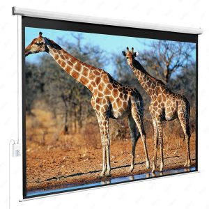 DFM 100 Diagonal 4-3 Ratio Motorized Electric 80 X 60 HD Projection Screen