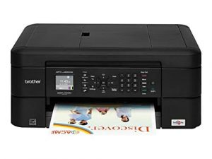 Sibling Printer MFCJ460DW Inkjet Printer Wireless Color with Scanner
