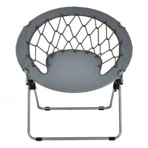 Giantex Folding Round Bungee Chair