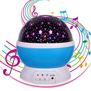 MINGKIDS Lullaby Night Light projector