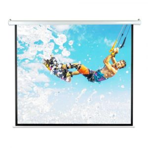 Pyle 84-Inch Portable Motorized Auto Projection Display