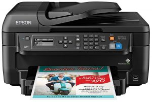 Epson WF-2750 Wireless Color Printer All-in-One with Scanner