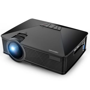 DBPOWER GP15 Mini Projector, LCD Video Projector that Support 1080P for Home Cinema/Gaming