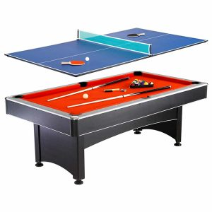 Hathaway Maverick Table Tennis Multi Game and 7-foot Pool
