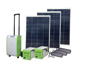 Nature PowerPak Portable Solar Generator