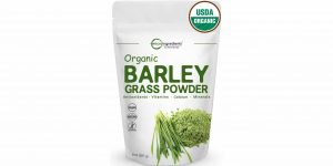 Top 10 Best Organic Barley Grass Powder in 2018