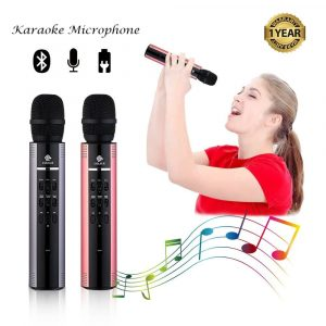 Aoqiyue Wireless Karaoke-Microphones, speaker and karaoke Mic, Bluetooth