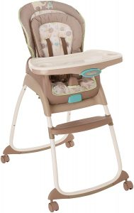 Ingenuity Trio Deluxe High 3-in-1 Chair-Sahara Burst