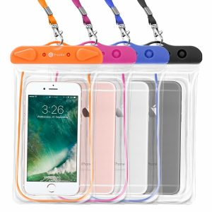 F- color Universal Clear Waterproof Pouch