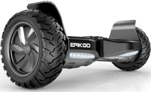"EPIKGO Self Balancing Scooter Hover Self-Balance Board – UL2272 Certified, All-Terrain 8.5"" Alloy Wheel, 400W Dual-Motor, LG Smart Battery, Hover Through Tough Road Condition [Classic Series]"