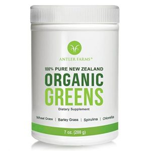 Antler Farms -100% Pure New Zealand Organic Greens Superfood Powder