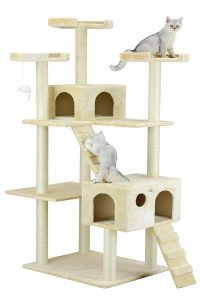 Go Pet Club Cat Tree, 72 inches