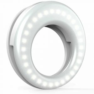 QIAYA Selfie Ring Light (Rechargeable battery)