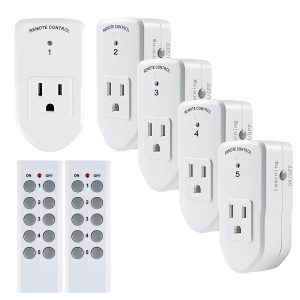 Wireless Remote Control Electrical Outlet by Century