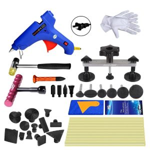 Super PDR 31 pcs Auto Dent Puller Paintless Dent Repair Tools kit