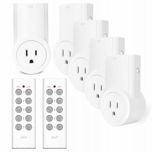 Wireless Remote Control Electrical Outlet by Etekcity